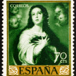 Postage stamp Spain 1960 Immaculate Conception, Painting by Muri — Stock Photo #10237282