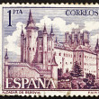 Postage stamp Spain 1964 Alcazar of Segovia, Spain — Stock Photo