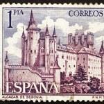 Postage stamp Spain 1964 Alcazar of Segovia, Spain — Stock Photo #10237458