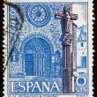 Postage stamp Spain 1967 Betanzos Church, Coruna, Spain — Stock Photo