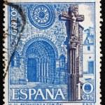 Postage stamp Spain 1967 Betanzos Church, Coruna, Spain — Stock Photo