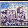 Stock Photo: Postage stamp Spain 1969 Velez Blanco, Almeria, Spain