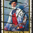 Postage stamp Spain 1971 Portrait of Pablo Uranga by Ignacio Zul — Stock Photo