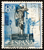 Postage stamp Spain 1964 Christ of the Lanterns, Cordova — Stock Photo