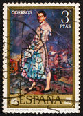 Postage stamp Spain 1971 Portrait of Juan Belmonte by Ignacio Zu — Stock Photo
