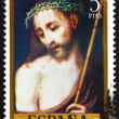Stock Photo: Postage stamp Spain 1970 Ecce Homo, painting by Luis de Morales
