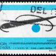 Postage stamp Spain 1993 Fusees, by Joan Miro — Stock Photo