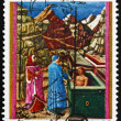 Royalty-Free Stock Photo: Postage stamp Italy 1965 Dante in Hell, Dante Alighieri, poet