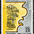 Postage stamp Italy 1966 Tourist Attractions — Stock Photo