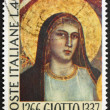 Постер, плакат: Postage stamp Italy 1966 Madonna by Giotto painter