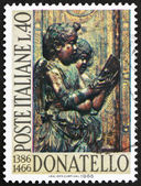 Postage stamp Italy 1966 Singing Angels, by Donatello — Stock Photo