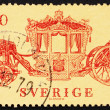 Stock Photo: Postage stamp Sweden 1978 Coronation Coach, 1699