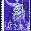 Postage stamp Italy 1937 Emperor Augustus Caesar Receiving Accla — Stock Photo #10523903