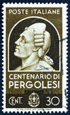 Postage stamp Italy 1937 Giovanni Battista Pergolesi, Composer — Stock Photo