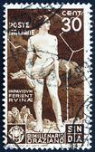Postage stamp Italy 1936 Ajax Defying the Lightning — Stock Photo