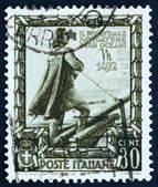 Postage stamp Italy 1938 Christopher Columbus, Explorer — Stock Photo