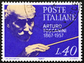Postage stamp Italy 1967 Arturo Toscanini, Conductor — Stock Photo