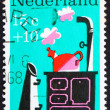 Postage stamp Netherlands 1967 Little Whistling Kettle, Nursery - Stockfoto