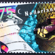 Stock Photo: Postage stamp Netherlands 1987 Salvation Army and Homeless