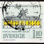 Postage stamp Sweden 1977 Gustavianum, Uppsala University — Stock Photo #10645072