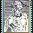 Postage stamp DDR 1971 Self-Portrait, by Albrecht Durer — Stock Photo