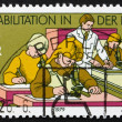 Postage stamp DDR 1979 Hospital Classroom, Rehabilitation in DDR — Stock Photo #10647389