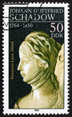 Postage stamp DDR 1981 Princess Luise, Detail of Sculpture — Stock Photo