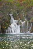 Waterfall on Krka river — Foto de Stock