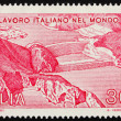 Postage stamp Italy 1981 shows High Island Power Station, Hong K — Stock Photo #10719852