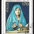 ������, ������: Postage stamp Italy 1979 shows Virgin Mary by Antonello da Mess