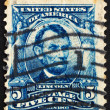 Stock Photo: Postage stamp US1903 Abraham Lincoln