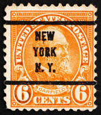 Postage stamp USA 1923 James A. Garfield — Stock Photo
