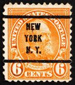 Postage stamp USA 1923 James A. Garfield — Stock Photo
