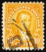Postage stamp USA 1923 James Monroe — Stock Photo