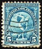 マイロン切手米国 1932 discobolus 彫刻します。 — ストック写真