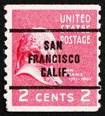 Postage stamp USA 1938 John Adams — Stock Photo
