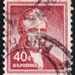Foto Stock: Postage stamp US1954 John Marshall
