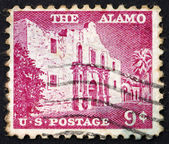 Timbre-poste usa 1954 l'alamo — Photo
