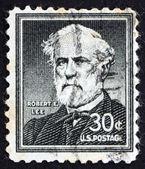 Postage stamp USA 1954 Robert E. Lee — Stock Photo
