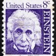 Stock Photo: Postage stamp US1965 Albert Einstein