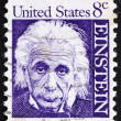 Postage stamp USA 1965 Albert Einstein — Stock Photo #8097826