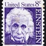 Postage stamp USA 1965 Albert Einstein — Stock Photo
