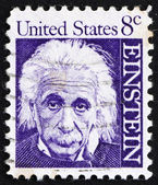 Timbre-poste usa 1965 albert einstein — Photo