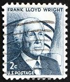 Postage stamp USA 1965 Frank Lloyd Wright — Stock Photo