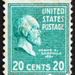 Postage stamp USA 1938 James A. Garfield — Stock Photo