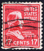Postage stamp USA 1938 Andrew Johnson — Stock Photo