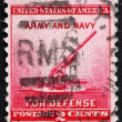 Postage stamp USA 1940 90-millimeter Anti-aircraft Gun — Stock Photo
