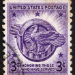 Postage stamp USA 1946 American Eagle - 