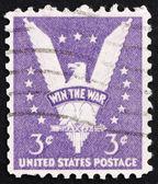 切手米国 1942年アメリカン ・ イーグル — ストック写真