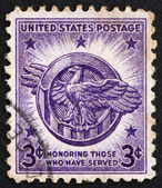 Postage stamp USA 1946 American Eagle — Stock Photo